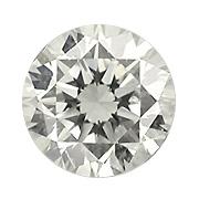 Diamant in geschliffener Form