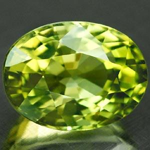 Turmalin Edelstein in der Farbe grün