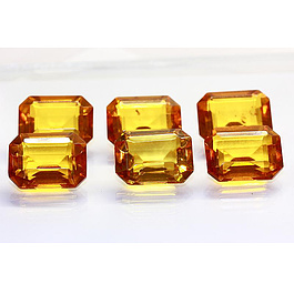 Bernstein Oktagon 16x12x7.8mm 4.10ct