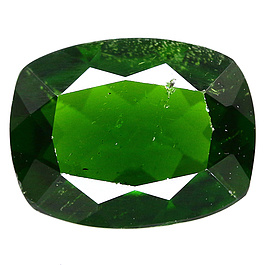 Chrome Diopside Cushion Grün 9x7x3.4mm 1.67ct
