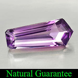 Amethyst Violett 20x8.4x6.3mm 6.79ct