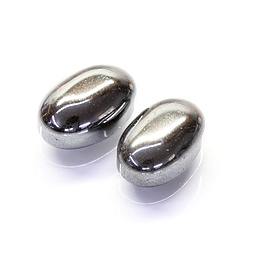 Hämatit Oval Cabochon 14x10mm 6.2ct