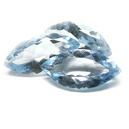 Navette Topas Skyblue 6x3mm 0.28ct