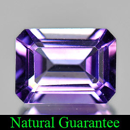 Oktagon Amethyst Violett 8x6x4mm 1.30ct