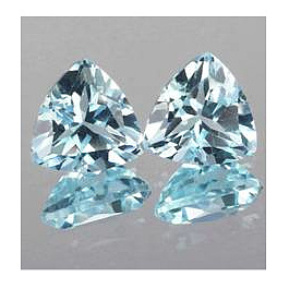 Triangle Topas Skyblue 5x5mm 0.61ct