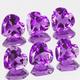 Herz Amethyst Violett 6x6mm 0.7ct