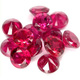 Runder Rubin Rot 2.0mm 0.05ct