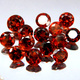 Runder Granat Rot 3.0mm 0.153ct