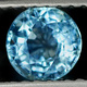 Runder Aquamarin Hellblau 3mm 0.10ct