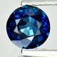 Runder Saphir Blau 5.68-5.73x3.18mm 0.86ct Zertifiziert