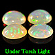 Ovaler Opal Multi Color 8.2x6.1x3.5mm 2.93ct LOT