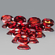 Ovaler Granat Oval Rot 6x3.9x2.8mm 0.58ct