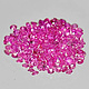 Runder Rubin Pink 1.5x1.5x0.9mm 0.014ct
