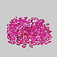Runder Rubin Pink 2.0x2.0x1.4mm 0.035ct