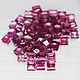 Square Rubin Pink 2x2mm 0.06ct