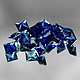 Square Saphir Blau 2.9x2.9x2.2mm 0.22ct