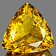 Triangle Citrin Gelb Medium 6x6mm 1.46ct