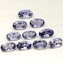 Ovaler Iolit Blau 5x3mm 0.18ct