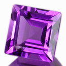Square Amethyst Violett 4.0x4.0mm 0.283ct