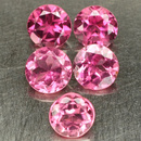 Runder Turmalin Pink 2.50mm 0.07ct