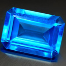 Oktagon Topas Swiss Blue 8x6mm 1.83ct