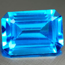 Oktagon Topas Swiss Blue 5x3mm 0.38ct