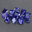 Square Iolit Blau 3.1x3.1x2mm 0.13ct