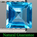 Square Topas Swissblue 4x4x2.8mm 0.41ct