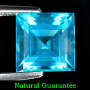 Square Topas Swissblue 6.8x6.8x4.7mm 2.07ct