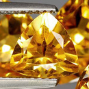 Triangle Citrin Gelb-Orange 8x8.2x6.2mm 1.30ct