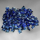Square Saphir Blau 1.8x1.8x1.3mm 0.04ct