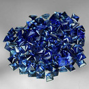 Square Saphir Blau 1.8x1.8x1.2mm 0.05ct
