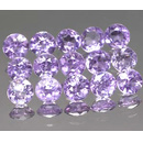 Runder Amethyst Medium-Lila 5.0mm 0.45ct