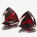 Triangle Granat Rot 8x8mm 1.70ct