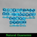 Square Topas Swissblue 2.4x2.4x1.7mm 0.08ct