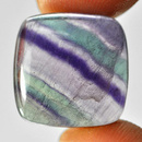 Square Fluorit Cabochon 15x15x5mm 12.06ct