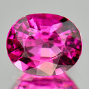Ovaler Turmalin Pink 6.1x5.1x3.5mm 0.68ct