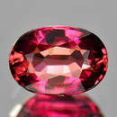 Ovaler Turmalin Pink 7x5x3.6mm 0.88ct
