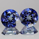 Runder Topas Mystic Blue Passion 5.0mm 0.58ct