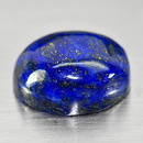 Ovaler Lapislazuli Royalblau 15.6x13x6.8mm 12.92ct