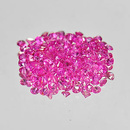 Runder Rubin Pink 1.1mm 0.01ct