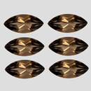 Navette Quarz Smoky 10x5mm 0.8ct