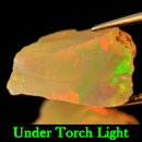 Rohedelstein Opal Multi Color 15x9x9mm 5.36ct