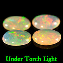 Ovaler Opal Multi Color 8x6x2.4mm 0.54ct