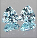 Triangle Topas SkyBlue 7x7mm 1.60ct