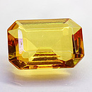 Bernstein Oktagon 20x15mm 6.5ct