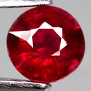 Runder Rubin Rot 6.0x6.0x4.1mm 1.31ct