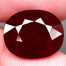 Ovaler Rubin Rot 15.1x12.3x6.4mm 11.08ct