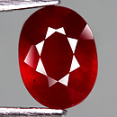 Ovaler Rubin Rot 9.1x6.8x4.6mm 2.77ct