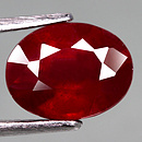 Ovaler Rubin Rot 9.2x7.1x5.0mm 3.03ct